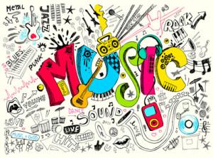 hudba k učení