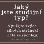 studijní typ, typ učení