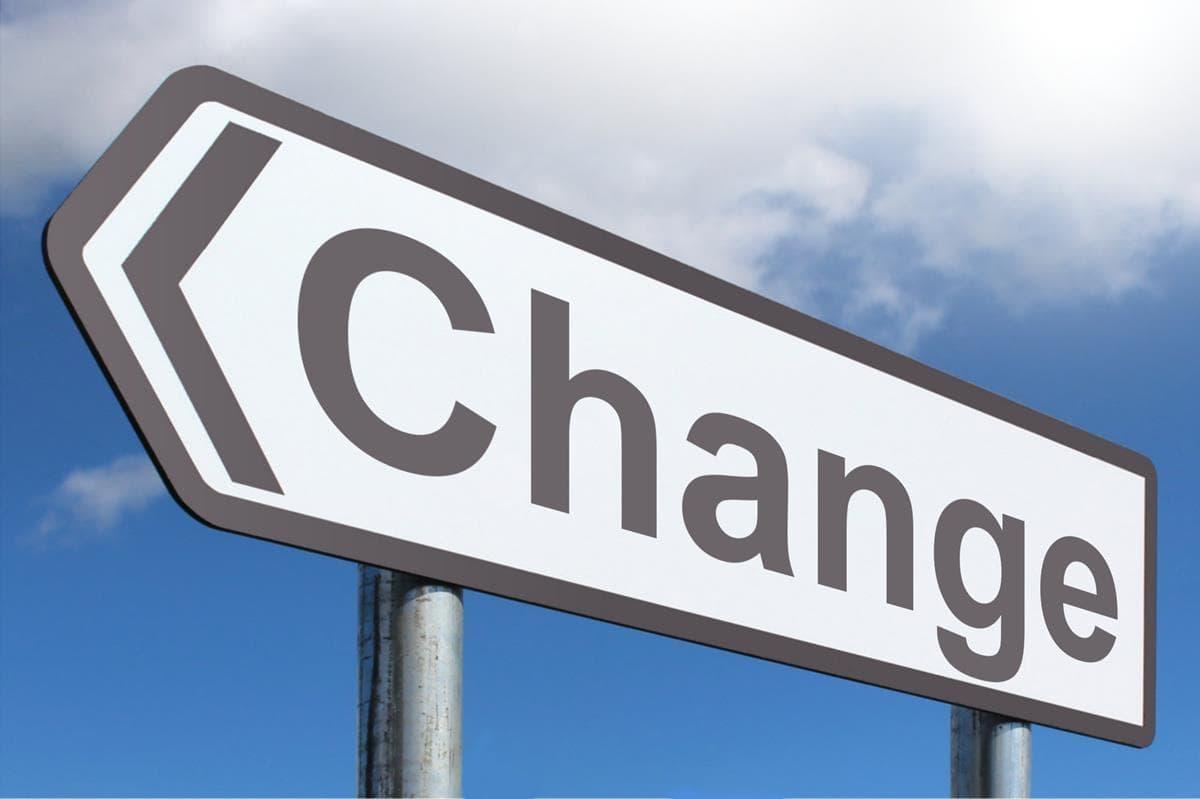 jak se změnit