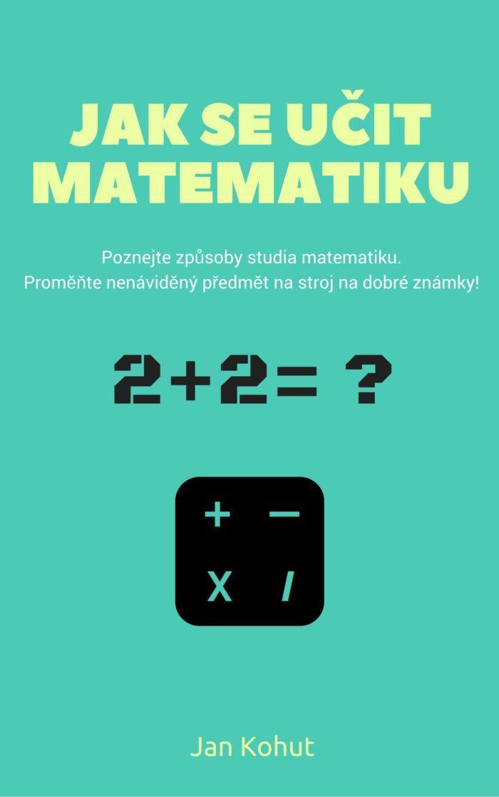 jak se učit matematiku