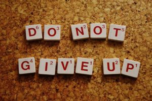 jak se nevzdat